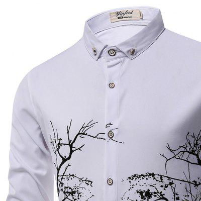 Fashion Personality Printing MenS Long-Sleeved Shirt MenMens Shirts<br>Fashion Personality Printing MenS Long-Sleeved Shirt Men<br><br>Collar: Turn-down Collar<br>Material: Cotton Blends<br>Package Contents: 1 X shirt<br>Shirts Type: Casual Shirts<br>Sleeve Length: Full<br>Weight: 0.3000kg