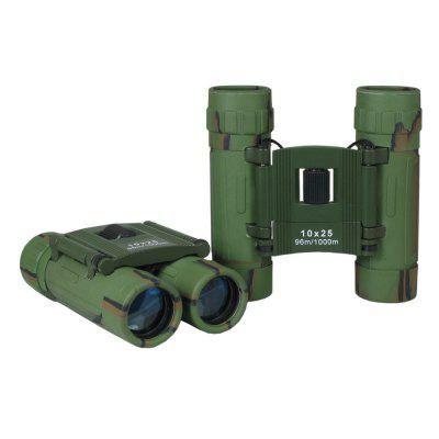 BDJ2231B 10x25mm Camonflage Mini Pocket Folding Binoculars for Kids and Adults