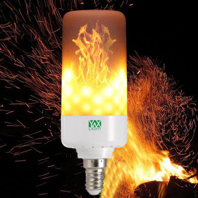 Flame Effect Fire Light Bulbs Flickering Emulation Flame Lamp - WARM WHITE