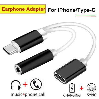 Buy USB 3.1 Type C Audio Charging Cable Type C To 3.5 Aux Jack Earphone Audio Cable Adapter Charger For Xiaomi 6 Letv Pro 3 LeEco Le 2 Pro Max2 For iPhone 7 Plus 6 6S Plus WHITE for $2.26 in GearBest store