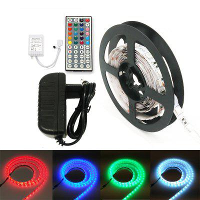 Buy WHITE US ZDM 100CM 5050 LED Light Strip and IR44 Controller 12V/2A Power Supply AC110-240V for $6.19 in GearBest store