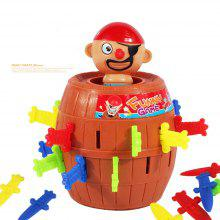 Running Man Pirate Barrels Party Toys Super Interesting Pirate Tricky Toy Pirate Crisis Barrels Novel and Whimsy Toy