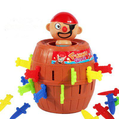 Running Man Pirate Barrels Party Toys Super Interesting Pirate Tricky Toy Pirate Crisis Barrels Novel and Whimsy ToyNovelty Toys<br>Running Man Pirate Barrels Party Toys Super Interesting Pirate Tricky Toy Pirate Crisis Barrels Novel and Whimsy Toy<br><br>Features: Creative Toy<br>Materials: Plastic<br>Package Contents: 1?set of toys<br>Package size: 10.00 x 10.00 x 15.00 cm / 3.94 x 3.94 x 5.91 inches<br>Package weight: 0.2200 kg<br>Product size: 10.00 x 10.00 x 15.00 cm / 3.94 x 3.94 x 5.91 inches<br>Product weight: 0.1700 kg<br>Series: Entertainment<br>Theme: Trick