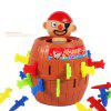 Running Man Pirate Barrels Party Toys Super Interesting Tricky Toy Pirate Crisis Barrels Novel and Whimsy Toy - PICTURE1