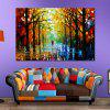 Unframed Abstract Canvas Print for Home Wall Decoration - COLORFUL
