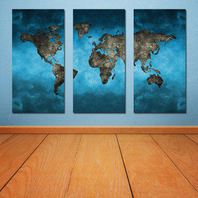Modern Frameless Canvas Art Prints for Home Wall Decoration 3PCS