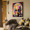 Abstract Unframed Canvas Print Home Wallart Decoration - COLORFUL