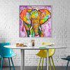 Abstract Canvas Print Framless Home Wall Decoration - COLORFUL