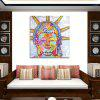 Creative Canvas Art Print Frameless Home Wall Decoration - COLORFUL