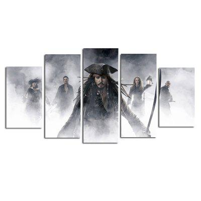 Unframed Canvas Prints Modern Home Wallart Decoration 5PCS