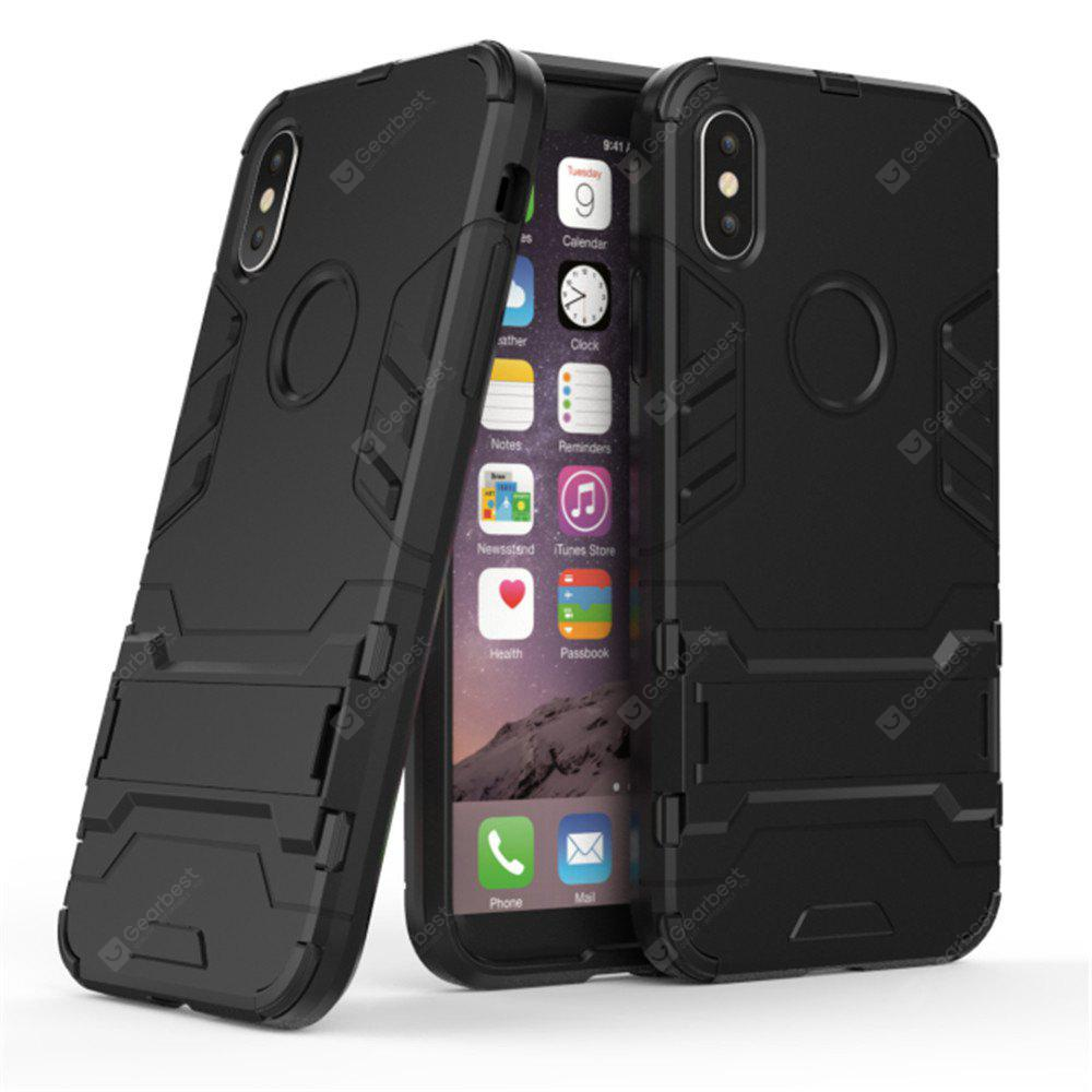 2 in 1 Bracket Phone Case for iPhone X