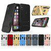 2 in 1 Bracket Phone Case for iPhone X - BLACK