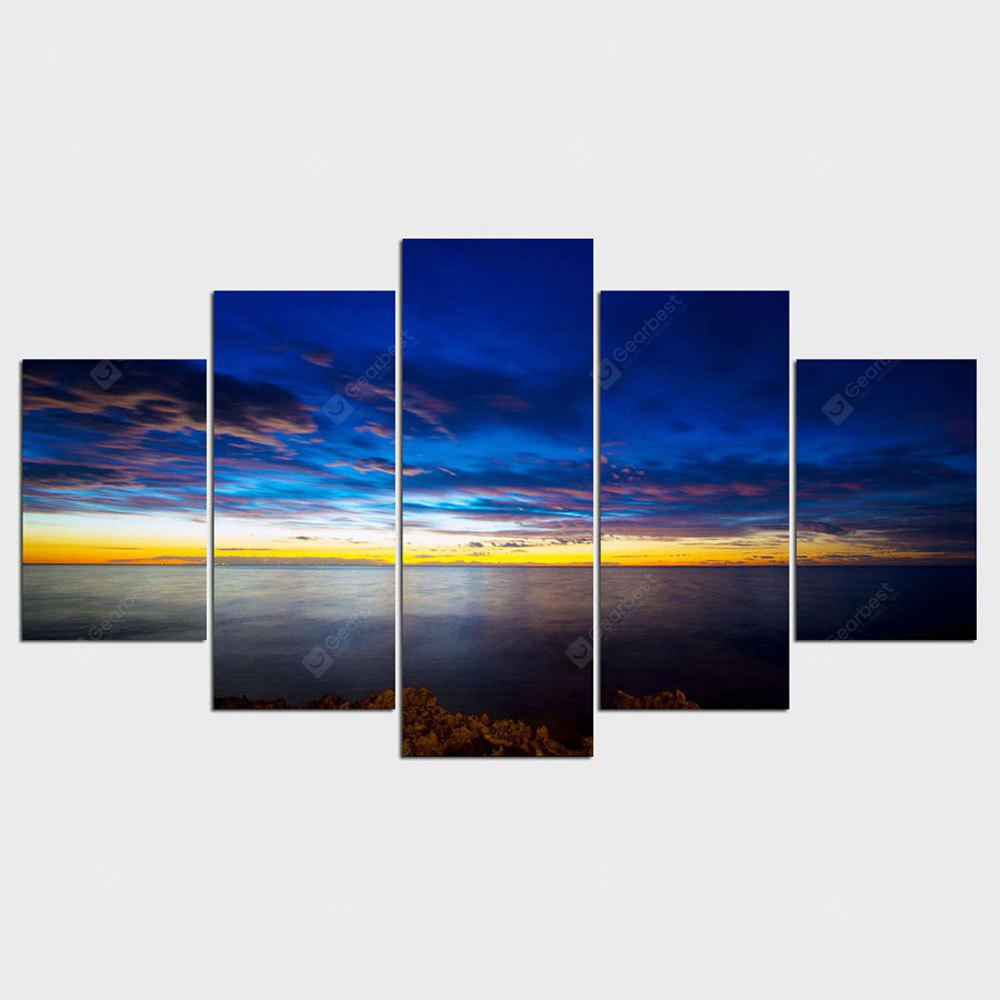 YSDAFEN Hot 5 Pcs Hd Picture Home Decoration Living Room Canvas Print