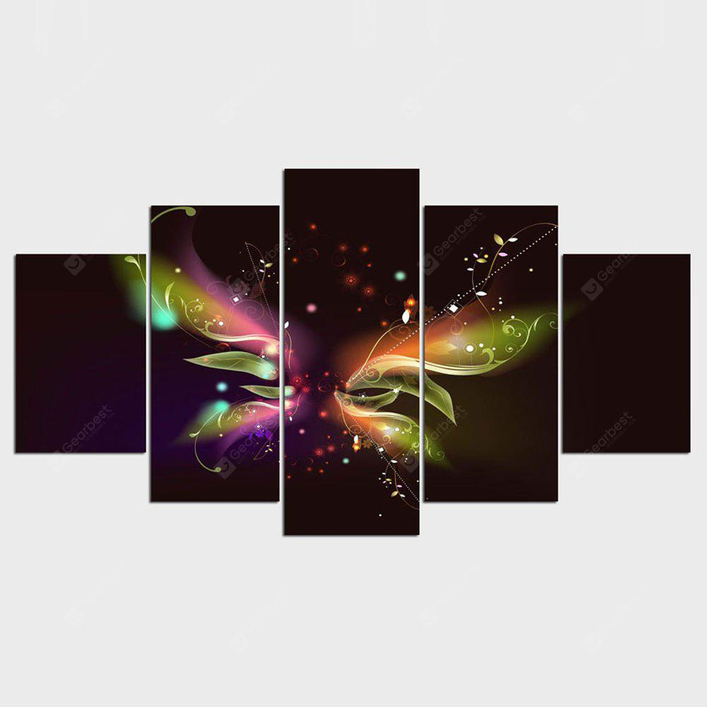 YSDAFEN HD Printed Colorful Butterfly Painting Wall Art Room Decor Print