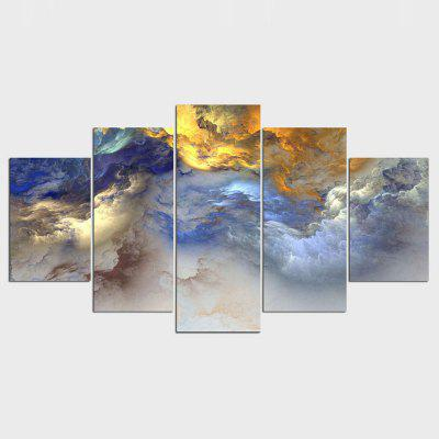 YSDAFEN 5 Panels Modern Wall Art Canvas Paintings Living Room