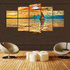 YSDAFEN 5 Panels Canvas Painting Modern Home Decor Wall Art Picture - COLORMIX