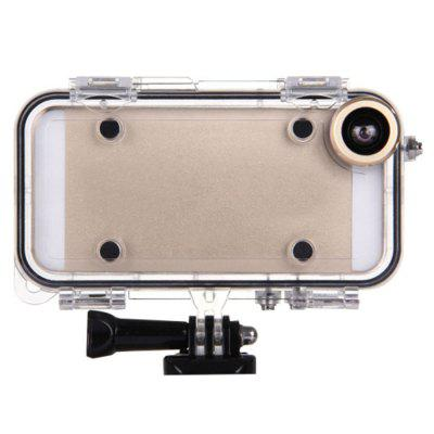 HAMTOD 170 Degree Wide Angle Action Sports Camera Lens with Waterproof Case for iPhone 5 / 5s / SE 4.0 inch