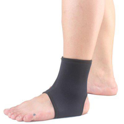 ShuoXin SX562 Sports Basketball Elastic Ankle Foot Brace Support Wrap - Black sport cotton wrist brace wrap support black