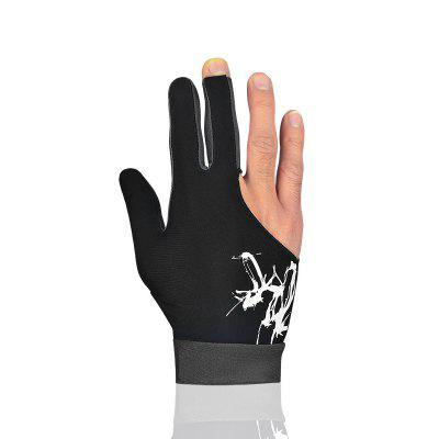 1 PCS Cue Billiard Pool Shooters 3 Fingers Gloves 5colors Billiard Gloves Snooker Gloves High Quality Billiard Accessori