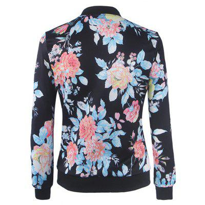 Womens Bomber Jacket Floral Patchwork Long Sleeve Pocket Slim Short JacketJackets &amp; Coats<br>Womens Bomber Jacket Floral Patchwork Long Sleeve Pocket Slim Short Jacket<br><br>Closure Type: Zipper<br>Clothes Type: Jackets<br>Collar: V-Neck<br>Elasticity: Nonelastic<br>Embellishment: Pockets<br>Fabric Type: Broadcloth<br>Material: Cotton<br>Package Contents: 1 x Jacket<br>Pattern Type: Floral<br>Shirt Length: Regular<br>Sleeve Length: Full<br>Style: Casual<br>Type: Wide-waisted<br>Weight: 0.2000kg<br>With Belt: No
