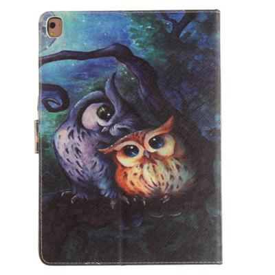 Oil Painting Ow PU+TPU Leather Wallet Cover Design with Stand and Card Slots Magnetic Closure Case for iPad Pro 9.7 Inch 9 card slots magnet wallet leather stand phone cover for iphone 7 4 7 inch feather and birds