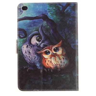 Oil Painting Owl Pattern PU+TPU Leather Wallet Cover Design with Stand and Card Slots Magnetic Closure Case for iPad Min new animal cartoon tiger owl pu leather stand for apple ipad pro 9 7 case with card slot protector back cover stylus