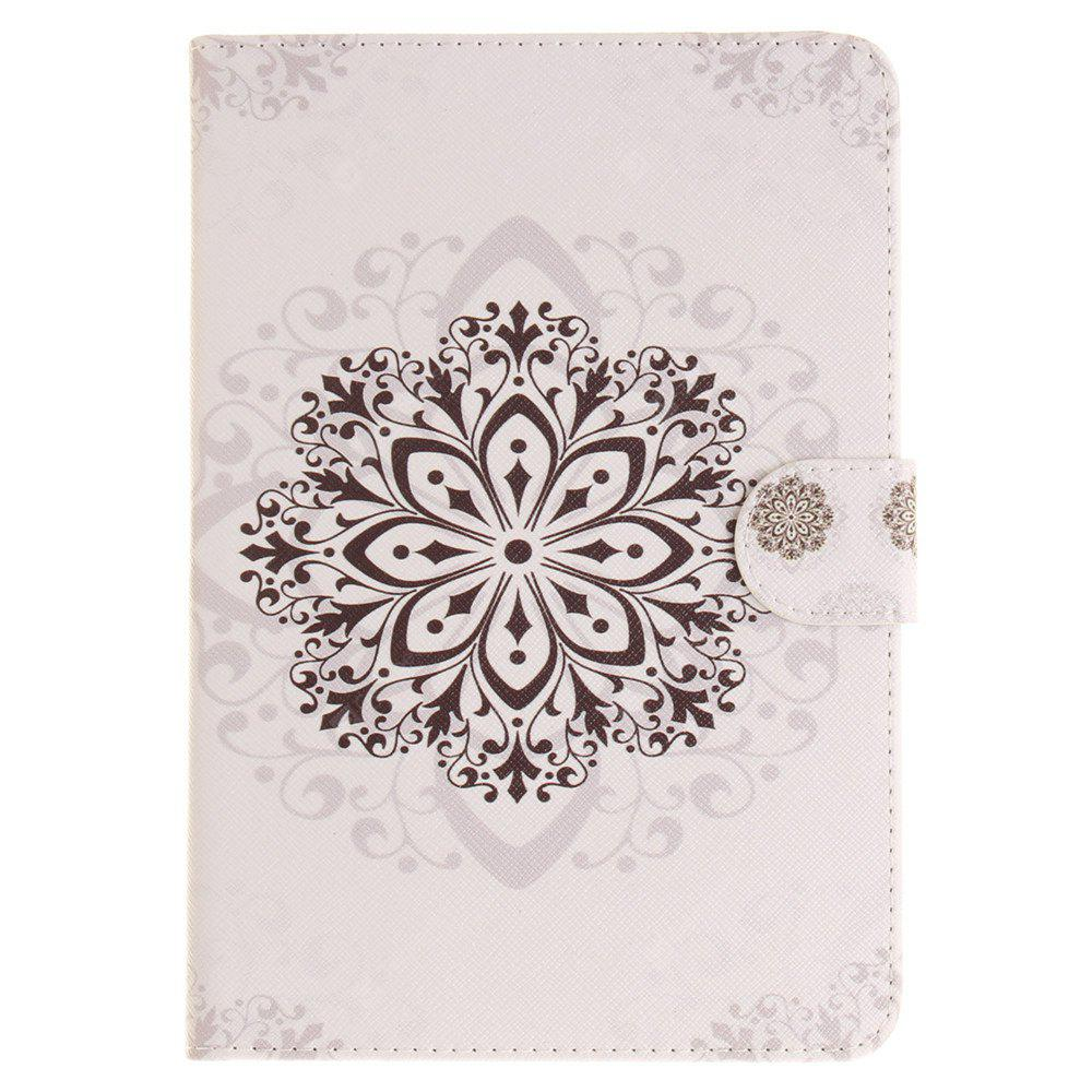 The Mandala Pattern PU+TPU Leather Wallet Cover Design with Stand and Card Slots Magnetic Closure Case for iPad Mini 4