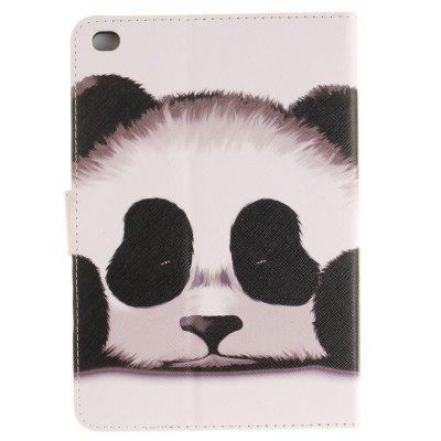 Panda PU+TPU Leather Wallet Cover Design with Stand and Card Slots Magnetic Closure Case for iPad Mini 4 9 card slots magnet wallet leather stand phone cover for iphone 7 4 7 inch feather and birds