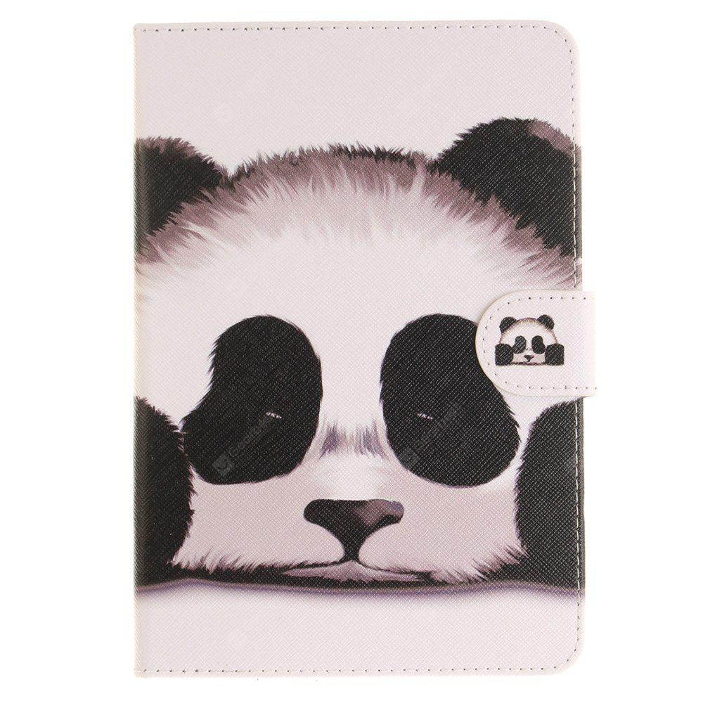 Panda PU+TPU Leather Wallet Cover Design with Stand and Card Slots Magnetic Closure Case for iPad Mini 4