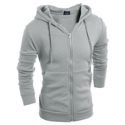 2017 Autumn and Winter New Men'S Simple Basic Hoodie
