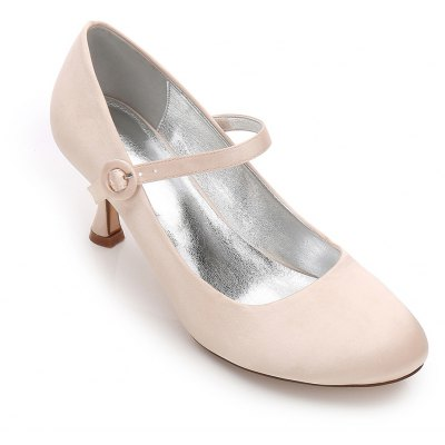 17061-27 Women's Shoes Wedding Shoes Round Toe MaryJane Office Shoes