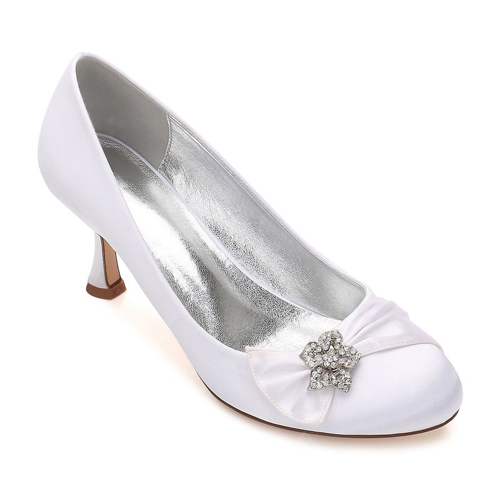 17061-30 Women's Shoes Wedding Shoes Round Toe Office Shoes