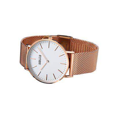BAOGELA 1609 Casual Steel Mesh Band Couple Quartz WatchCouples Watches<br>BAOGELA 1609 Casual Steel Mesh Band Couple Quartz Watch<br><br>Band material: Steel<br>Case material: Alloy<br>Clasp type: Hook buckle<br>Display type: Analog<br>Movement type: Quartz watch<br>Package Contents: 1 x Watch, 1 x Box, 1 x English Manual<br>Package size (L x W x H): 16.30 x 7.00 x 3.20 cm / 6.42 x 2.76 x 1.26 inches<br>Package weight: 0.1421 kg<br>Shape of the dial: Round<br>The female dial dimension (L x W x H): 3.5 x 3.5 x 0.8cm<br>The female size (L x W x H): 23.5 x 3.5 x 0.8cm<br>The female watch band dimension (L x W): 23.5 x 1.8cm<br>The female watch weight: 52.1g<br>The male dial dimension (L x W x H): 4 x 4 x 0.8cm<br>The male watch band dimension (L x W): 24.5 x 2cm<br>The male watch size (L x W x H): 24.5 x 4 x 0.8cm<br>The male watch weight: 65.4g<br>Watch style: Casual, Fashion<br>Watches categories: Couple tables
