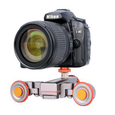 YELANGU Black L4 Camera Motorized Autodolly Car for Dslr Camera And SmartphonePhoto Studio Accessories<br>YELANGU Black L4 Camera Motorized Autodolly Car for Dslr Camera And Smartphone<br><br>Package Contents: 1 x Autodolly L4,1 x Remote Control,1 x Manual,1 x Certificate<br>Package size (L x W x H): 19.00 x 14.00 x 6.00 cm / 7.48 x 5.51 x 2.36 inches<br>Package weight: 0.5670 kg<br>Product weight: 0.4160 kg