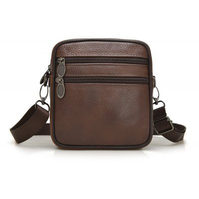 Real Leather Single Shoulder Crossbody Wasist Bag
