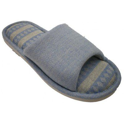 Men And Women Linen Home Slippers
