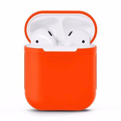 Besegad Siliconen Draagtas Cover Skin Sleeve Pouch Box voor Apple Airpods Air Ear Pods Buds Draadloze Oortelefoon Headpho