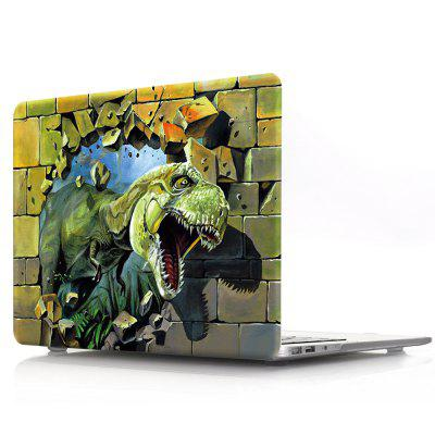 Computer Shell Laptop Case Keyboard Film for MacBook New Pro 13.3 inch Touch 2016 3D Tyrannosaurus 13 inch laptop keyboard cover