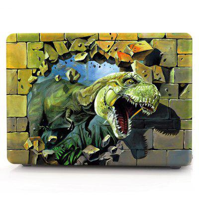 Computer Shell Laptop Case Keyboard Film for MacBook New Pro 13.3 inch Touch 2016 3D Tyrannosaurus