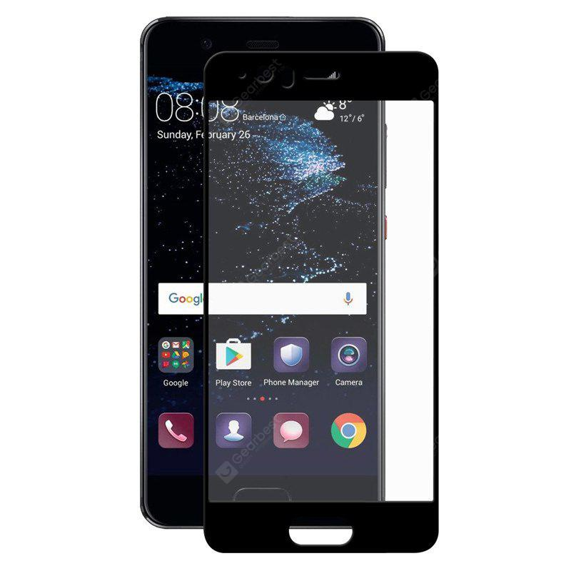 9H 2.5D For Huawei P10Plus Silk Print Full Screen Cover Mobile Tempered Glass Guard Film