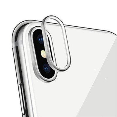 Sakula Camera Lens Protector Plating Aluminum for iPhone X Cameral Case Cover Ring