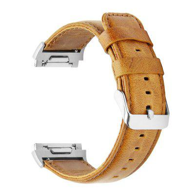 Crazy Horse Leather Watch Strap for Fitbitionic