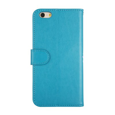 Flamingo Pattern PU Leather Wallet Case for iPhone 6 mercury goospery milano diary wallet leather mobile case for iphone 7 plus 5 5 grey