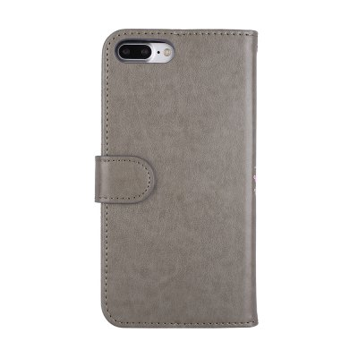 Flamingo Pattern PU Leather Wallet Case for iPhone 7 Plus wallet leather protective case for iphone 6s plus 6 plus feather pattern