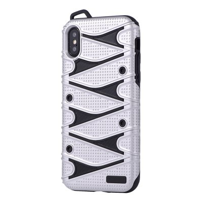 Carbon Fiber Soft Tpu Protector Phone Case for iPhone X