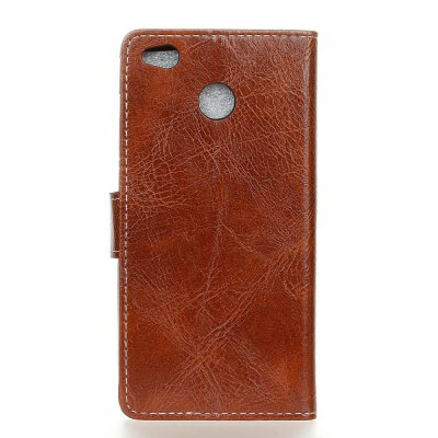 Genuine Quality Retro Style Crazy Horse Pattern Flip PU Leather Wallet Case for Xiaomi Redmi  4X kazine crazy horse texture surface leather wallet case for zenfone4 maxzc554kl