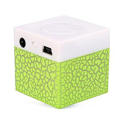 Portable Mini Stereo Bass TF Card Mini MP3 Music Player Wireless Speaker