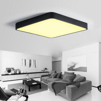 JX231H - 40W - WW Warm White Ceiling Light AC 220VFlush Ceiling Lights<br>JX231H - 40W - WW Warm White Ceiling Light AC 220V<br><br>Battery Included: No,Non-preloaded<br>Certifications: 3C,CE,FCC,RoHs<br>Color Temperature or Wavelength: 2800K<br>Dimmable: No<br>Features: Designers<br>Fixture Height ( CM ): 5CM<br>Fixture Length ( CM ): 50CM<br>Fixture Material: Acrylic,Metal<br>Fixture Width ( CM ): 50CM<br>Package Contents: 1 xCeiling Light, 1 x English User Manual, 4 x Screw, 4 x Colloidal Particle<br>Package size (L x W x H): 51.50 x 51.50 x 6.50 cm / 20.28 x 20.28 x 2.56 inches<br>Package weight: 4.0000 kg<br>Product size (L x W x H): 50.00 x 50.00 x 5.00 cm / 19.69 x 19.69 x 1.97 inches<br>Product weight: 3.2000 kg<br>Shade Material: Acrylic<br>Stepless Dimming: No<br>Style: Chic &amp; Modern, Simple Style, LED<br>Suggested Room Size: 15 - 20?<br>Suggested Space Fit: Bedroom,Cafes,Dining Room,Indoors,Living Room,Office<br>Type: Semi-Flushmount Lights<br>Voltage ( V ): AC220