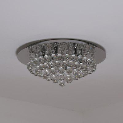 KX0538 - 6 Crystal Ceiling Lamp AC 220VFlush Ceiling Lights<br>KX0538 - 6 Crystal Ceiling Lamp AC 220V<br><br>Battery Included: No,Non-preloaded<br>Bulb Base: G9<br>Certifications: 3C,CE,FCC,RoHs<br>Dimmable: No<br>Features: Crystal<br>Fixture Height ( CM ): 17CM<br>Fixture Length ( CM ): 50CM<br>Fixture Material: Crystal,Metal<br>Fixture Width ( CM ): 50CM<br>Number of Bulb: 6 Bulbs<br>Package Contents: 1 xCeiling lamp, 1 x English User Manual, 4 x Screw, 4 x Colloidal Particle, 4 x Crystal<br>Package size (L x W x H): 52.00 x 46.00 x 19.00 cm / 20.47 x 18.11 x 7.48 inches<br>Package weight: 6.0000 kg<br>Product size (L x W x H): 50.00 x 50.00 x 17.00 cm / 19.69 x 19.69 x 6.69 inches<br>Product weight: 4.9000 kg<br>Shade Material: Crystal, Metal<br>Stepless Dimming: No<br>Style: Chic &amp; Modern<br>Suggested Room Size: 10 - 15?<br>Suggested Space Fit: Bedroom,Cafes,Dining Room,Indoors,Office,Study Room<br>Type: Semi-Flushmount Lights<br>Voltage ( V ): AC220
