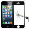Full Screen Protection Tempered Glass 9H for iPhone 5 / 5s / SE - BLACK